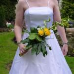Bruidsboeket geel b